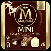 Magnum Mini Classic Amande White Magnum, X6, 266g