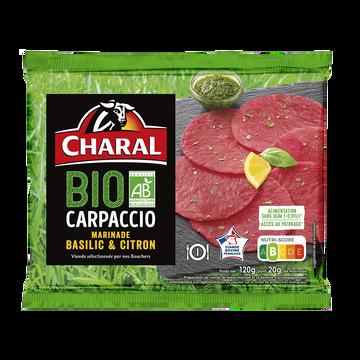 Charal Carpaccio Boeuf, Bio, Charal, France, 1 Pièce, Barquette 120g