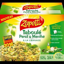 Taboulé persil et menthe à la libanaise ZAPETTI, 525g
