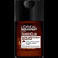 Après-rasage baume réparateur barber club MEN EXPERT, flacon de 125ml