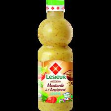 Sauce salade extra légère moutarde à l'ancienne LESIEUR, 500ml