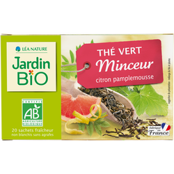 Thé vert minceur bio JARDIN BIO 30g
