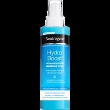 Aqua spray désaltérant pour le corps hydro boost pour peaux normales àsèches NEUTROGENA, spray de 200ml