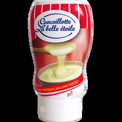 Cancoillotte à l'ail au lait pasteurisé LA BELLE ETOILE, 8% de MG, 250g