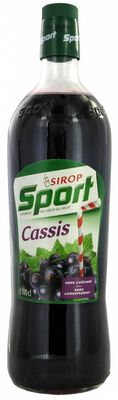 SPORT SIROP CASSIS 1L