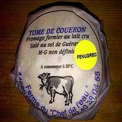 TOME DE COUERON AU FENUGREC EARL CHEF DE L'EAU