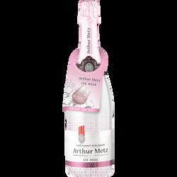 Crémant d'Alsace Ice rosé demi-sec ARTHUR METZ, 75cl