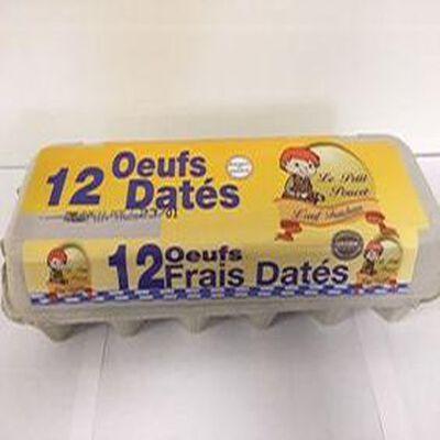 OEUFS DATES X12