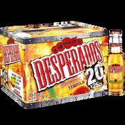 Desperados Bière Aromatisée Téquila Desperados, 5,9°, 20x25cl