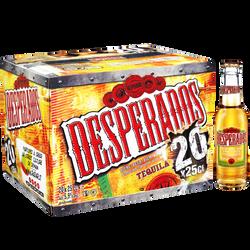 Bière aromatisée téquila DESPERADOS, 5,9°, 20x25cl