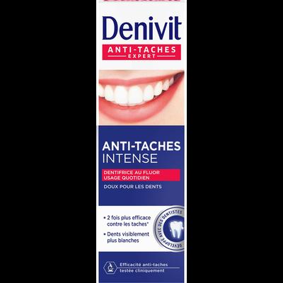 Dentifrice crème anti-tâches DENIVIT, 50ml