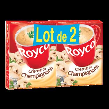 Royco Crème De Champignons Royco, Étui De 2x4 Sachets 160cl