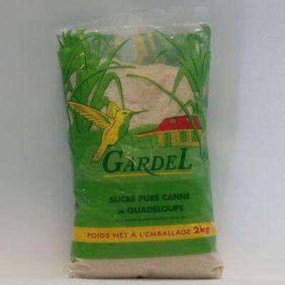 SUCRE CANNE ROUX 2KG GARDEL