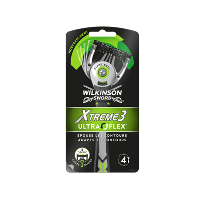 Rasoirs Xtreme 3 ultra flec WILKINSON x4