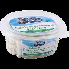Concombre à la crème LA BELLE HENRIETTE, 300g