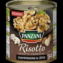 Risotto champignons et cèpes, PANZANI, 800g