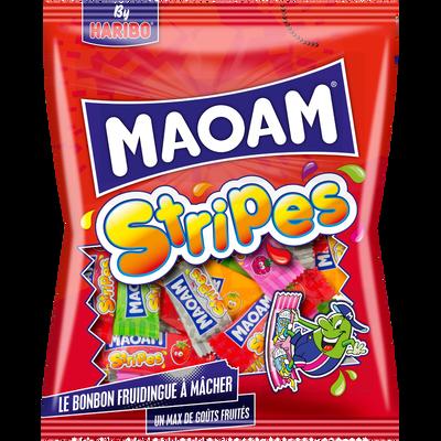 Stripes bonbons maoam HARIBO, sachet de 250g