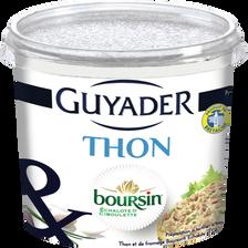 Boursin Tartinable Au Thon Et  Échalotes Et Ciboulette Guyader, 120g