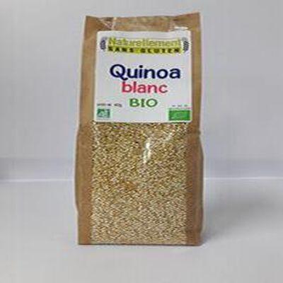 Quinoa blanc Bio NATURELLEMENT SANS GLUTEN 400G
