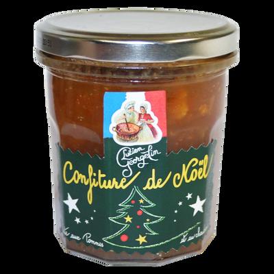 Confiture de Noël Cuite au chaudron LUCIEN GEORGELIN, pot en verre de320g