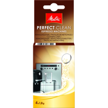 Pastilles de nettoyage pour machines à expresso MELITTA, 4x1,8g