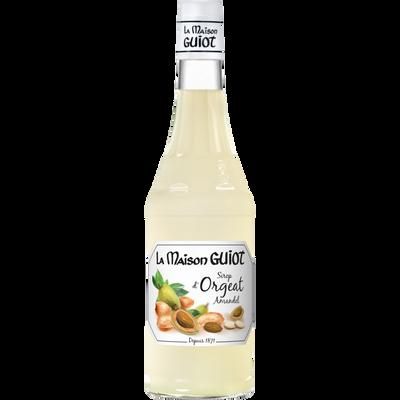 Sirop d'orgeat la maison GUIOT, bouteille en verre de 70cl