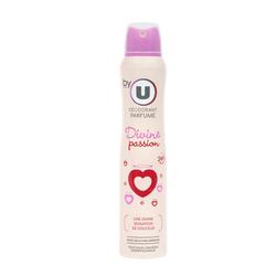 Déodorant pour femme 24H divine passion BY U, atomiseur de 200ml
