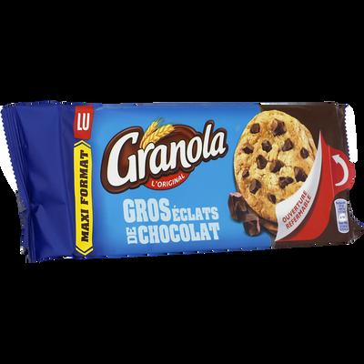 Granola extra cookies chocolat LU, 276g
