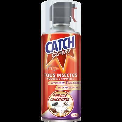 Insecticide tous insectes CATCH, aérosol de 400ml