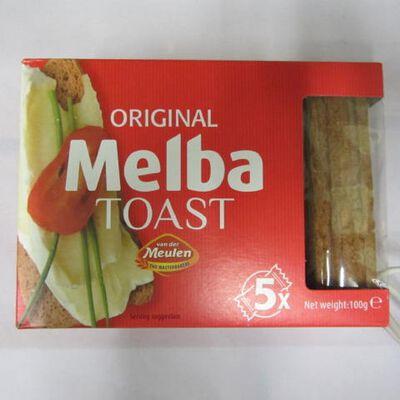 MELBA TOAST 100G V.D.MEULEN