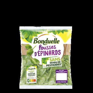 Bonduelle Pousses Épinards, Bonduelle, Sachet 90g
