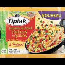 Légumes du soleil céréales et quinoa à poêler TIPIAK, 500g