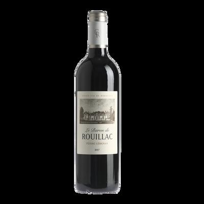 CLUB DES VINS & TERROIRS Vin rouge AOP Pessac-Léognan LE BARON DE ROUILLAC HVE3 , 75cl