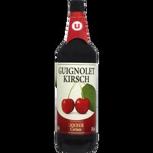 Guignolet kirsch U, 15°, bouteille de 1l