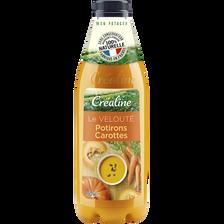 Velouté potiron carottes, CREALINE, 950ml