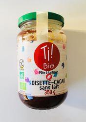Chocolate sans lait BIO, CLUB BIO, bocal de 350g
