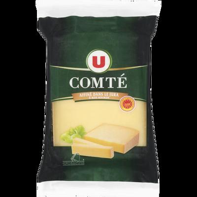 Comté AOP au lait cru 34% de matière grasse U, 400g