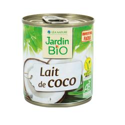 Lait de coco JARDIN BIO 225ml