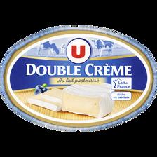 Fromage double crème au lait pasteurisé U, 30%MG, 300g