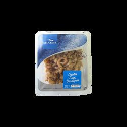 Crevettes grises décortiquées DELICEMER, sous atmosphère 90g