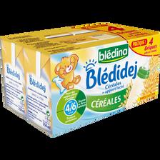 BLEDIDEJ céréales sans gluten, dès 6 mois, 4x250ml