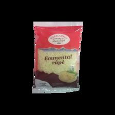 Emmental râpé fin au lait pasteurisé VALMARTIN,  27% de MG, 200g