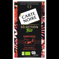 Café moulu pur arabica sélection Honduras bio CARTE NOIRE, 250g