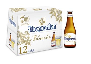 Hoegaarden Bière Blanche Hoegaarden, 4.9°, 12x25cl