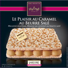 Labeyrie Plaisir Caramel Au Beurre Salé Recette Le Nôtre , 410g