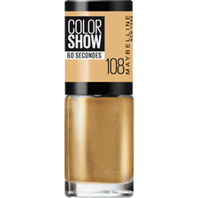 Vernis à ongles colorshow 108 golden sand MAYBELLINE, nu