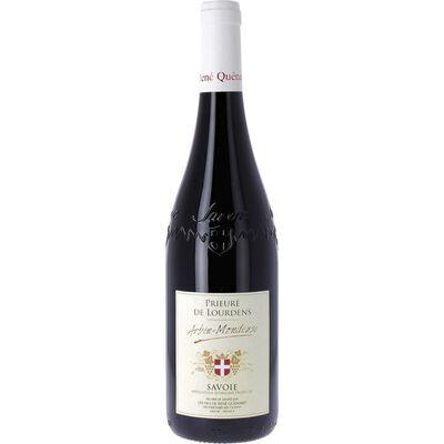 Vin rouge Mondeuse Arbin AOP Le prieuré de Lourdens, 75cl