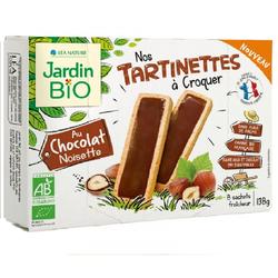 Tartinettes Chocolat Noisette- Jardin bio