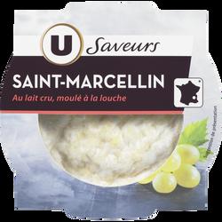 St Marcellin IGP au lait thermisé U SAVEURS, 23%MG, 80g