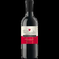 Vin de pays de l'Hérault IGP, rouge Commandeur, 75cl